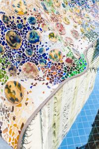 Casa Batllo Mosaics by Antonio Gaudi