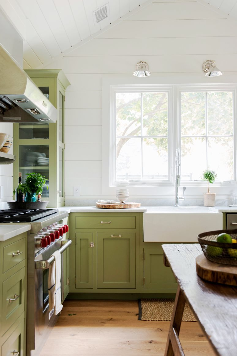 farmhouse-restoration-kitchen-green-cabinets-marble-counters-shiplap-walls-cococozy-nyt.jpg
